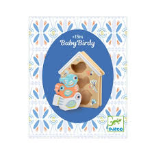 BabyBirdy Wooden Shape Sorter by Djeco