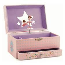 Balleriina Musical Box Jewellery box by Djeco