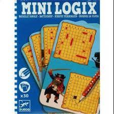 Mini Logix Battleships Game by Djeco