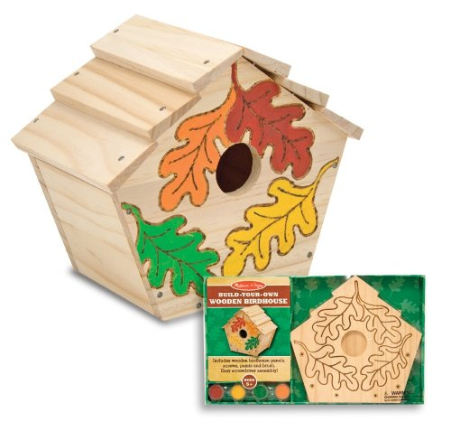 Melissa and Doug Build your own Birdhouse