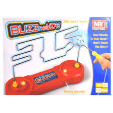 Buzz the Wire Game of Skill