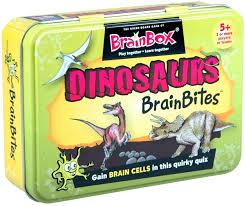 Dinosaur Brain Bites Quiz Game for Children