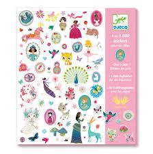 Djeco 1000 pretty stickers