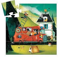 Djeco-16-Piece-Fire-Truck-Silhouette-Puzzle-2