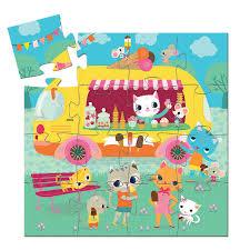 Djeco 16 piece Ice cream van Jigsaw puzzle