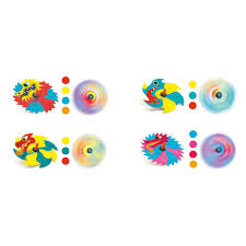 Make your own Dragons Spinning Tops by Djeco