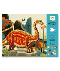 Djeco Dinosaur Mosaics