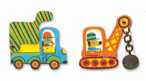 Djeco Duo Puzzles Vehicles