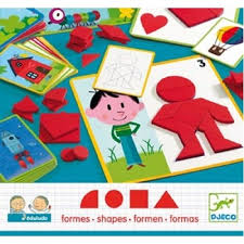 Djeco - Eduludo Shapes - STEM toy