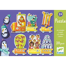 Djeco - I-count counting jigsaw puzzle