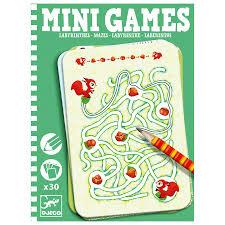 Mazes - Mini Games by Djeco