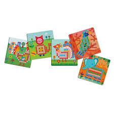 Djeco Mosaico Animo Peg Boards