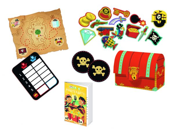 Djeco Pirate Party Pack