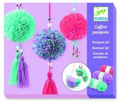 Djeco – Make your own Pom Poms Kit