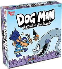 The Dogman Board Game - Attack of the Fleas