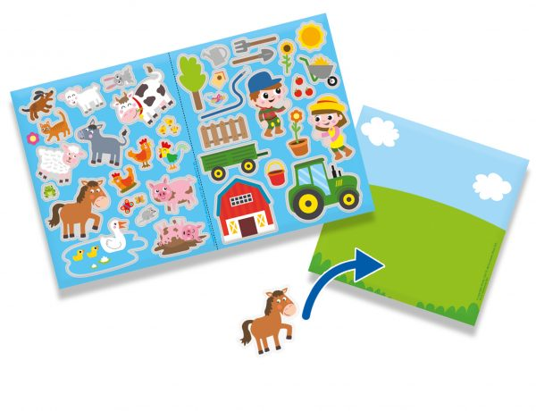 Farm themed window stickers from SES Creative