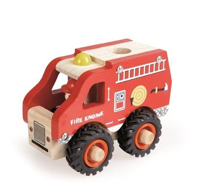 Wooden Fire Engine Truck