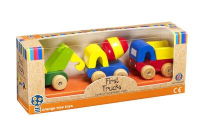 Orange Tree Wooden Toys First Trucks
