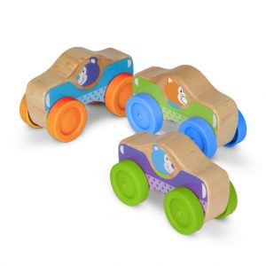 Wooden Stacking Cars for Toddlers by Melissa and Doug Toys
