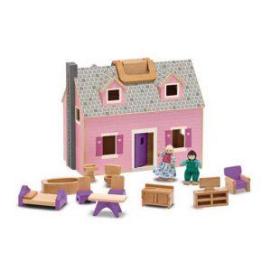 Melissa and Doug Fold an Go Dollhouse