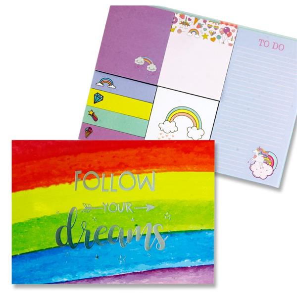 Follow Your Dreams - Sticky Notes Book