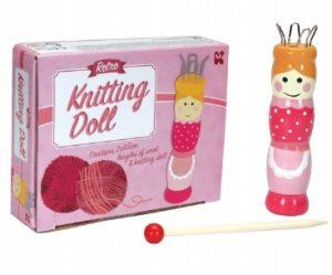 French knitting Doll