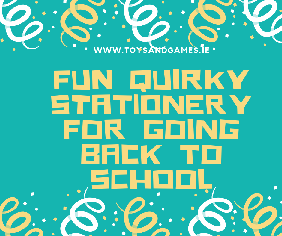 Fun Quirky Stationery for Going Back to School
