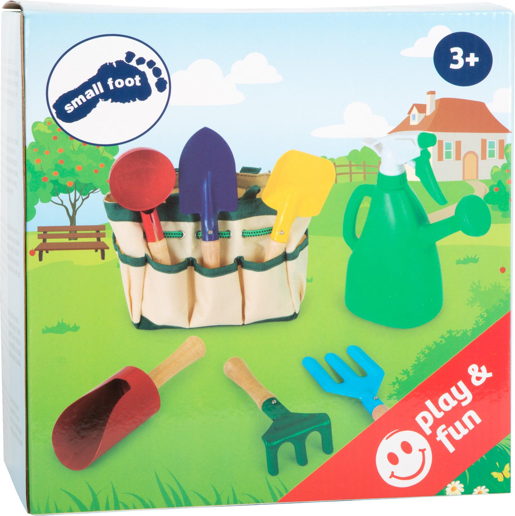 Children's Gardening Bag and Tools