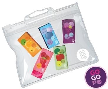 Gogopo Fruit Scented Erasers