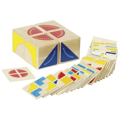 Goki - Legespiel pattern solving cube Puzzle Game