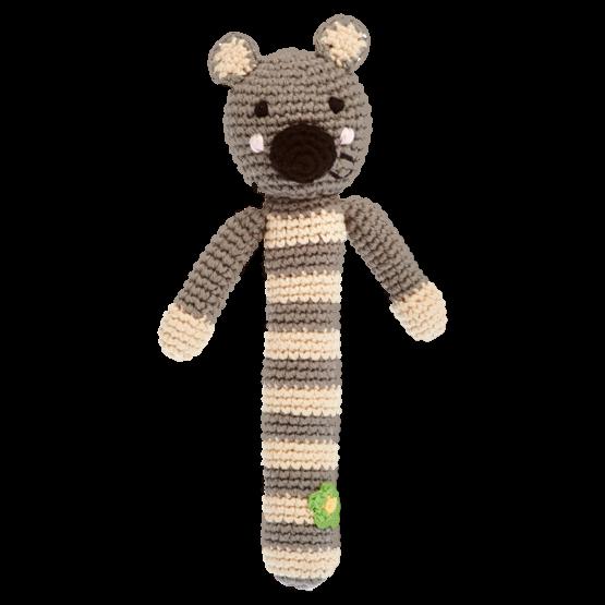 Pebble Crocheted Koala Baby Rattle