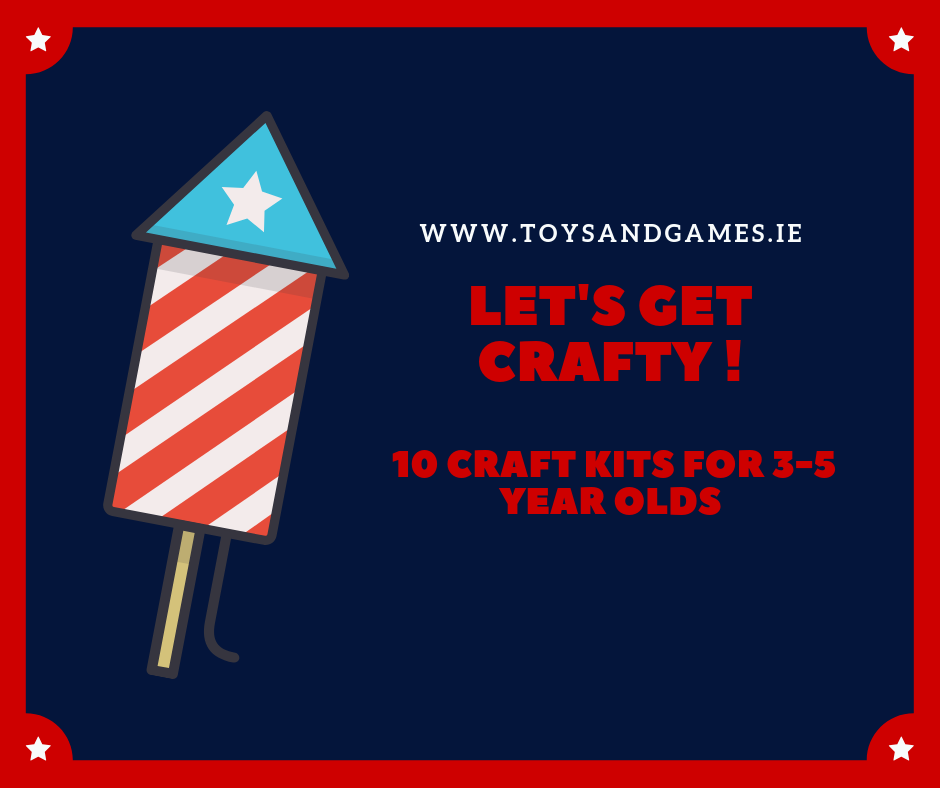 Let's Get Crafty – 10 Craft Kits for 3-5 Year Olds
