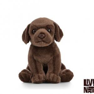 Living Nature Chocolate Labrador Puppy Soft Toy
