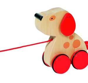 Luhna - Pull Along Dog from Goki Toys