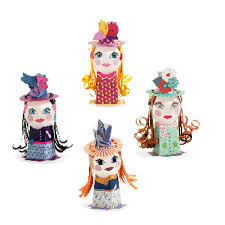 Make your own Balloon Damsels by Djeco