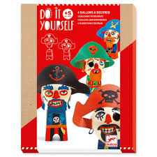 Make your own Pirate Balloon People by Djeco