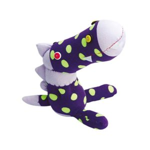 Make your own Sock Dino Sewing project for children