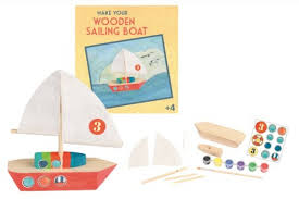 Make your own Wooden Sailing Boat from Egmont Toys