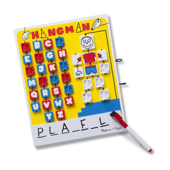Melissa and Doug Wooden Reusable Hangman Game