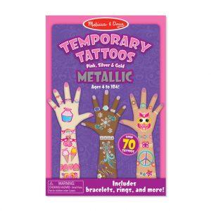 Melissa and Doug Children's temporary tattoos - metallic ones