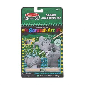Scratch Art - Colour Reveal - Safari