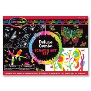 Melissa and Doug Scratch Art - Deluxe Combo Box