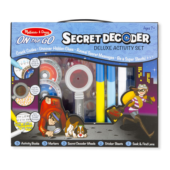 Melissa and Doug - Secret Decoder Deluxe Activity Set
