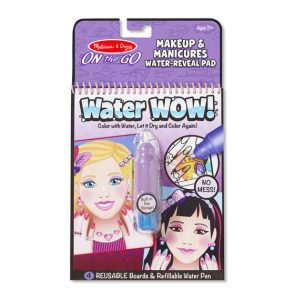 Melissa and Doug On the Go Water Wow Make Up and Manicures