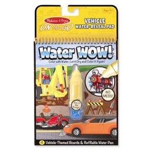 Melissa and Doug Water Wow On the Go Vehicles
