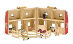 Fold and Go Barn from Melissa and Doug Toys