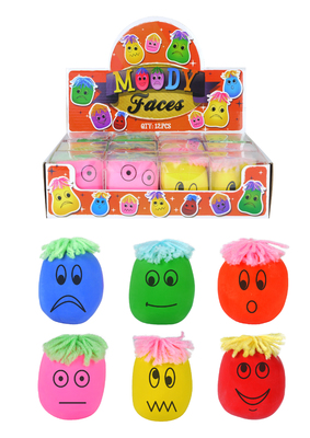 Moody Squeeze Face Stress Ball Fidget Toys for Children