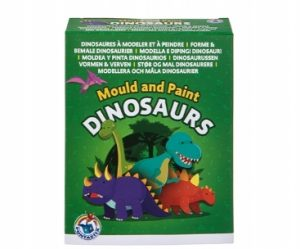 Mould and Paint Dinosaurs