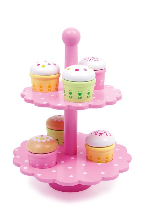 Etagere Muffins – Wooden Play Food