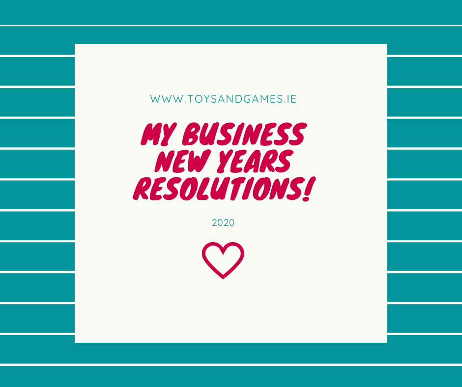 My Business New Years Resolutions!